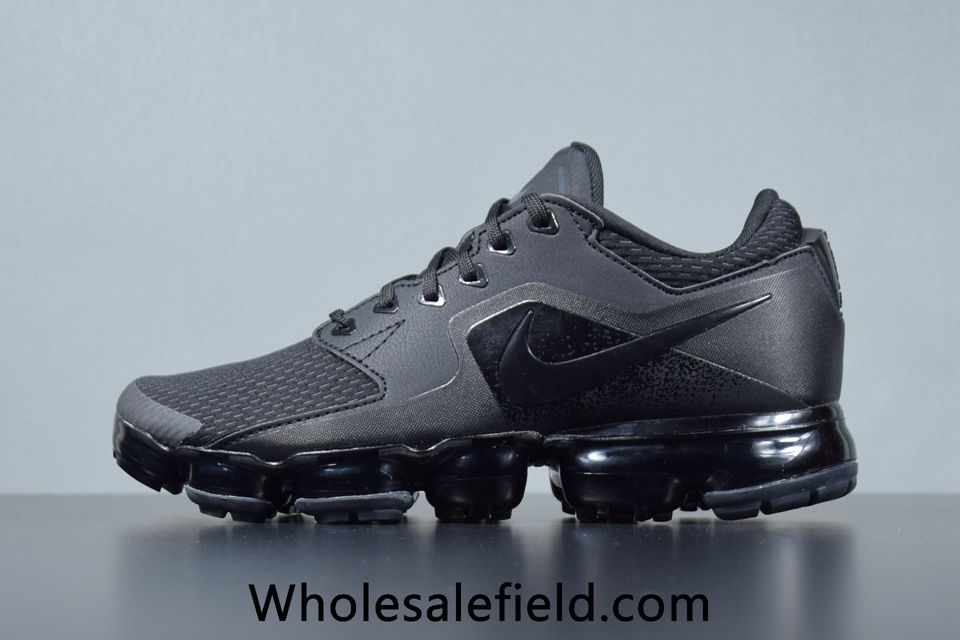 7127e1f29a69 Nike Air VaporMax 2018 Black Women Men