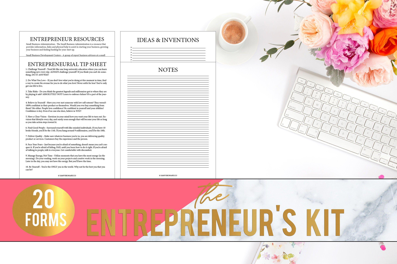 Entrepreneur S Kit Business Kit Business Planner