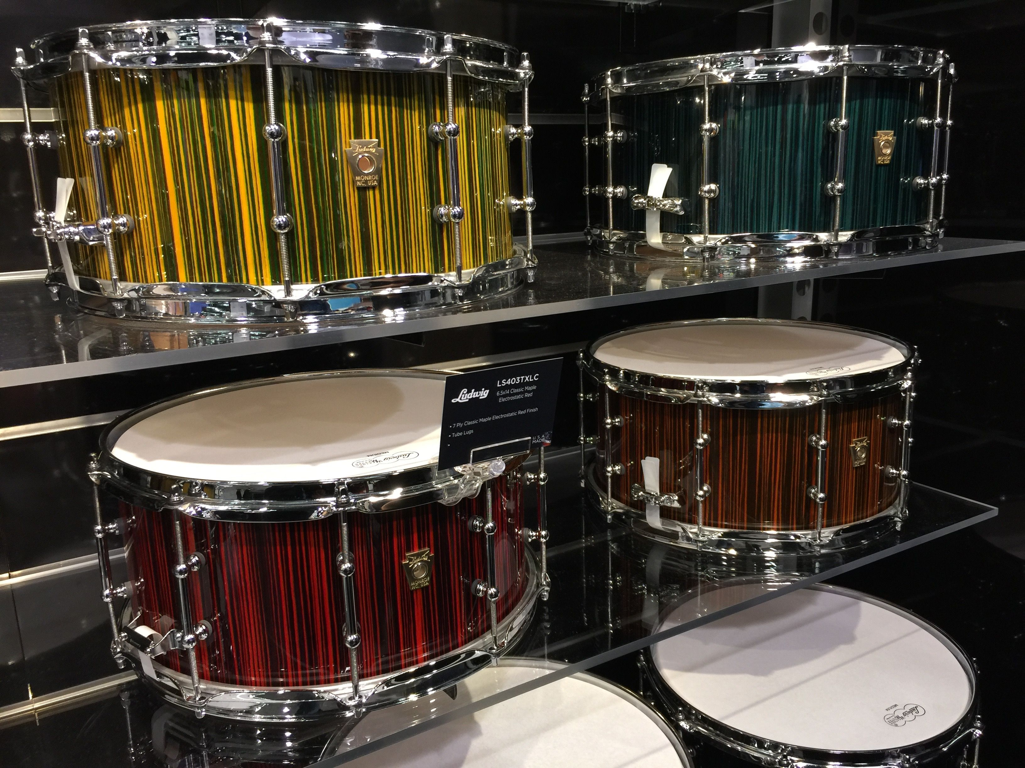 Ludwig Drums Electrostatic Finish Snares