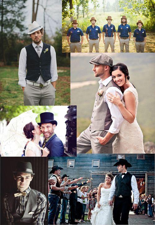 ab4e6b2212dcb Alternative Weddings    (via Men s Wedding Hats