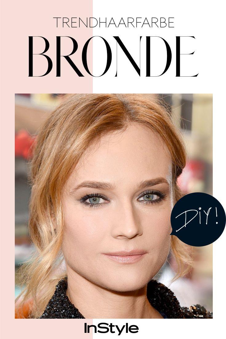 Der Haartrend zwischen Blond und Braun: Wie man sich