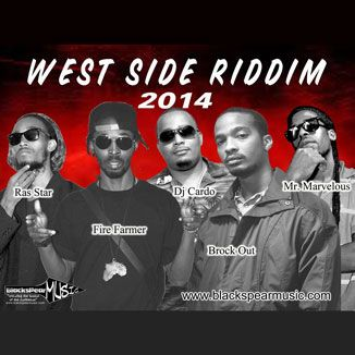 West Side Riddim is a brand new dancehall juggling from Blackspear Music, produced by Dj Cardo of Trinidad which features Fire Farmer, Mr Ma...
