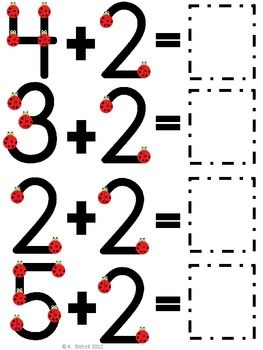 FREE Extra Large: Single Digit Addition Practice with Touch Poi ...