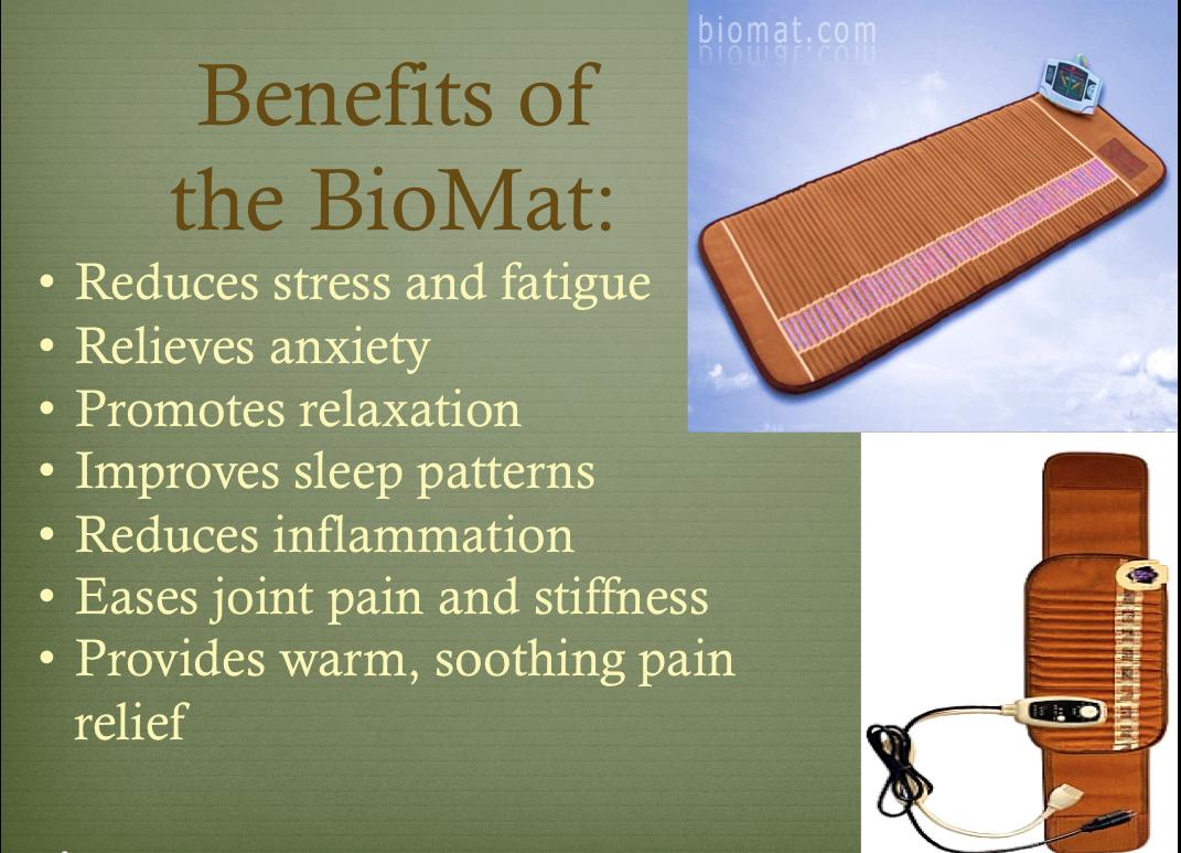 A 30 minute molecular massage accelerates and deepens all healing
