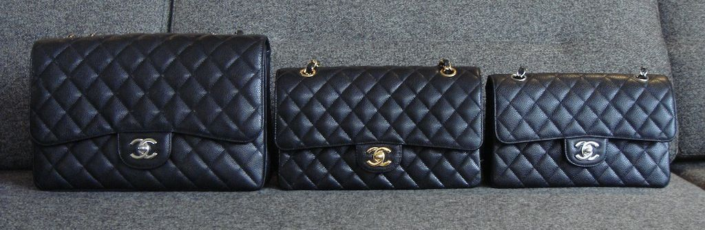 a94cee557cdc Chanel Classic Flap size comparison Small - 9