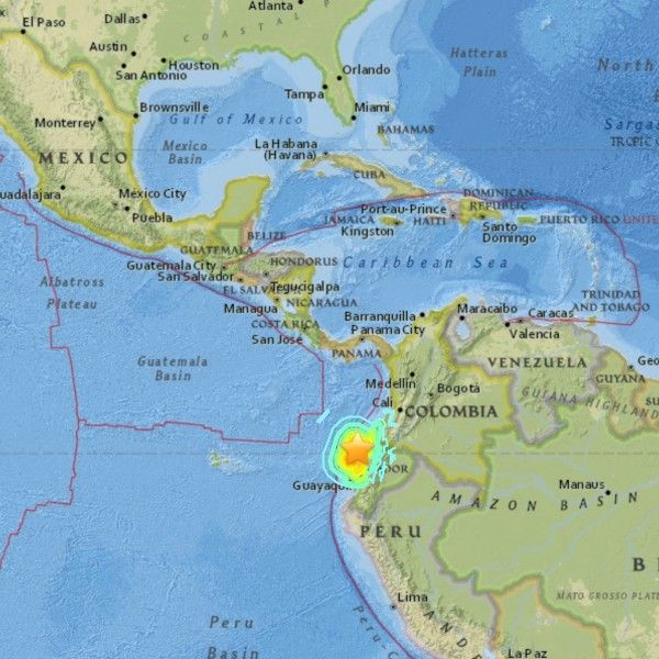 A 62-magnitude quake struck Tuesday northeast of San Jose Del Cabo - best of world map japan ecuador