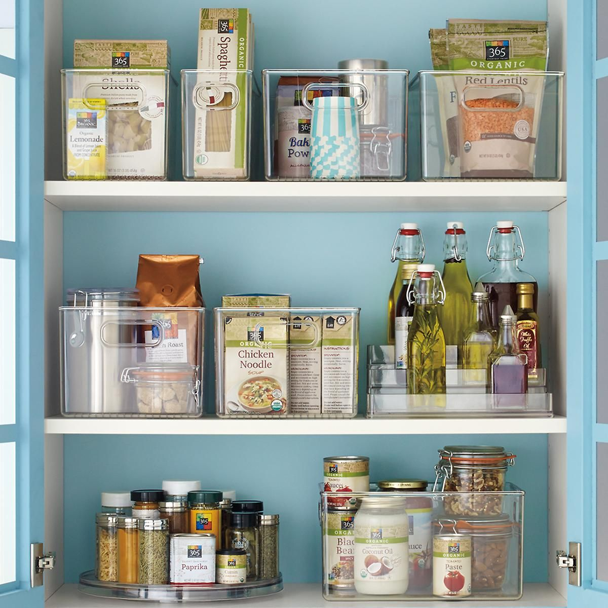 Linus Pantry Binz | Pantry, Container store and Organizing