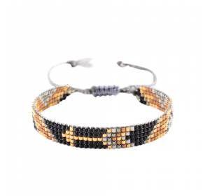 Woman pearl brown bracelet