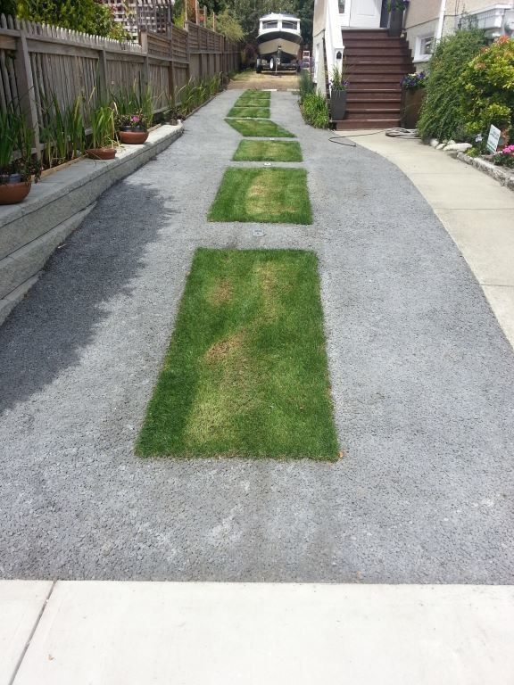 How permeable pavement will change the cities of the for Driveway addition ideas