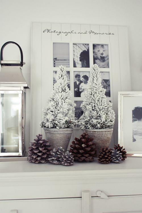 Es Weihnachtet Sehr · White Living: Winter Is Near · Deko WeihnachtenSilberne  ...
