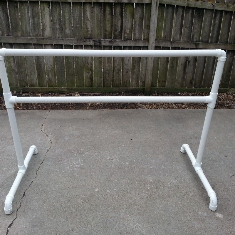 DIY ballet barre made out of pvc ) : pvc pipe ballet barre - www.happyfamilyinstitute.com