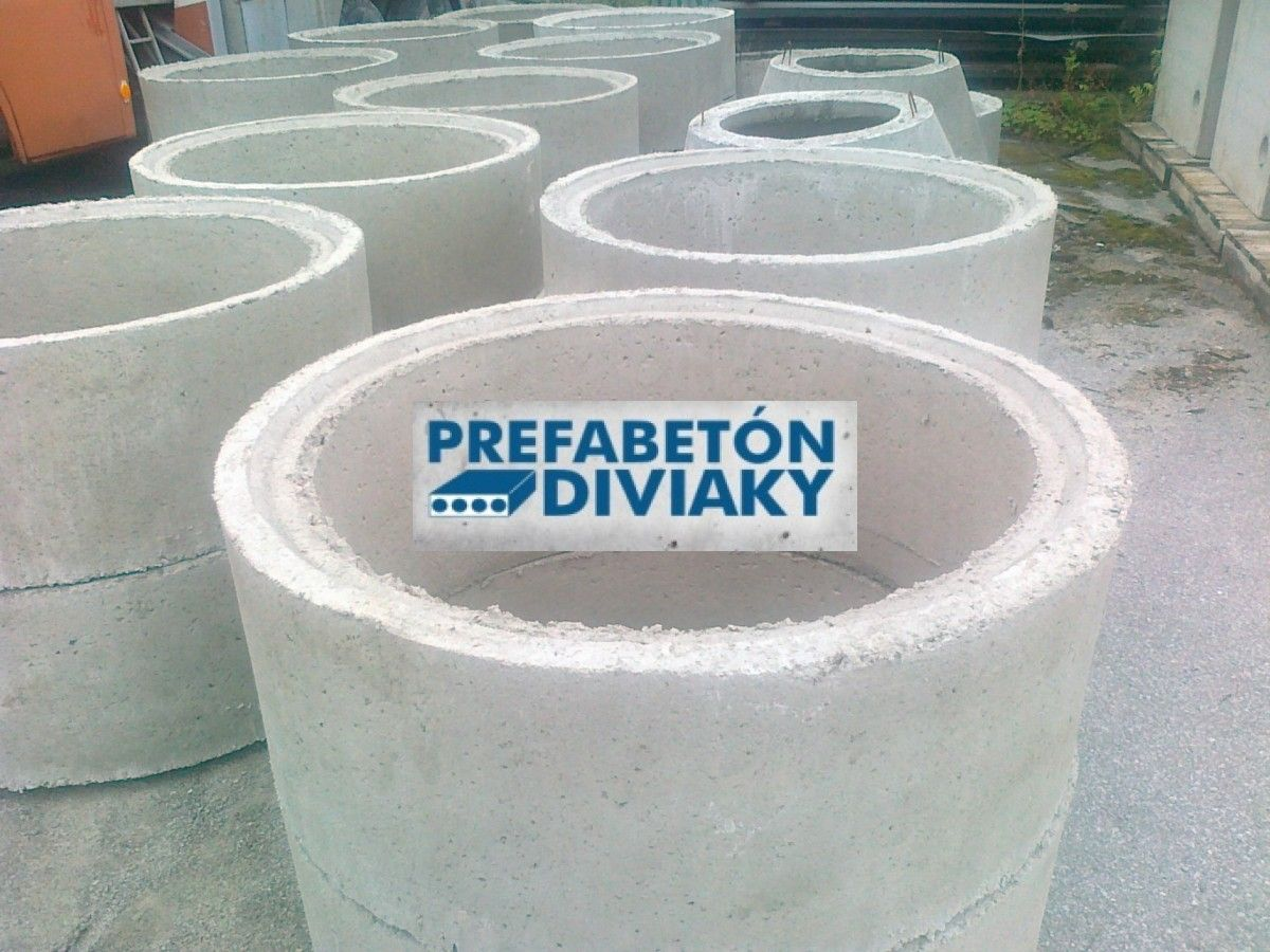 Betónová skruž priemer 1000 mm výška 450mm