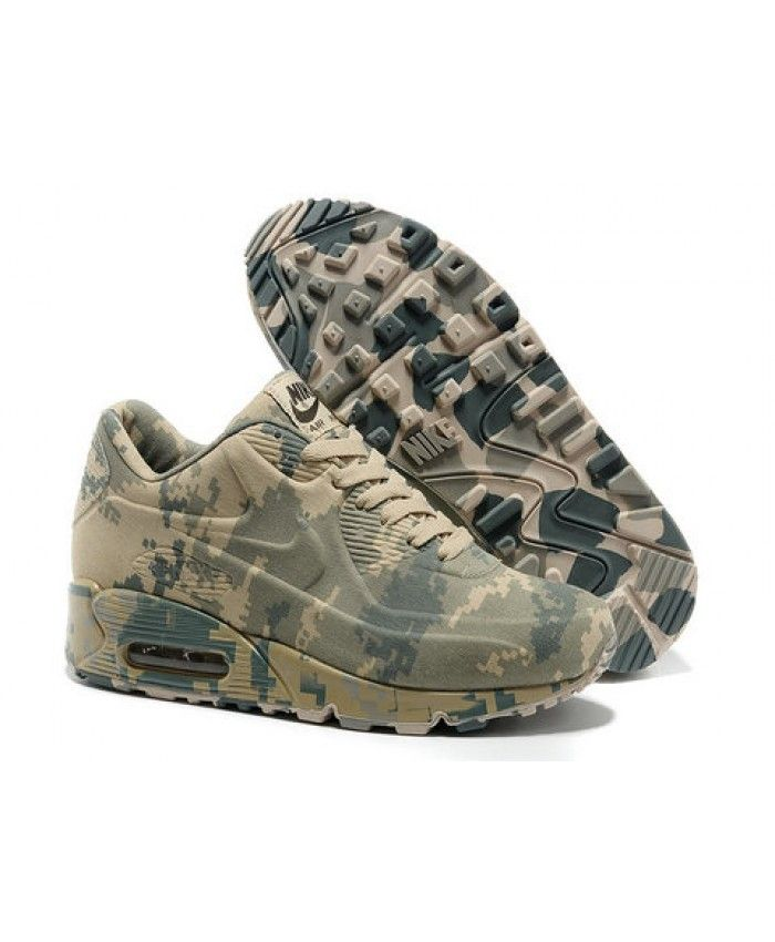 Nike Air Max 90 Vt Camouflage Yellow Green UK  e0df10934fb