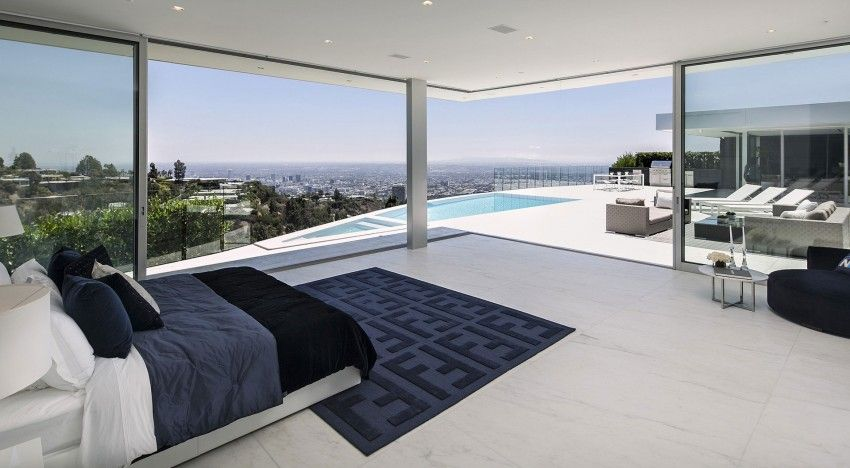 Carla Ridge A Luxury Contemporary Home In Beverly Hills California Designed By Mcclean Design In 2014 Via Homedsgn