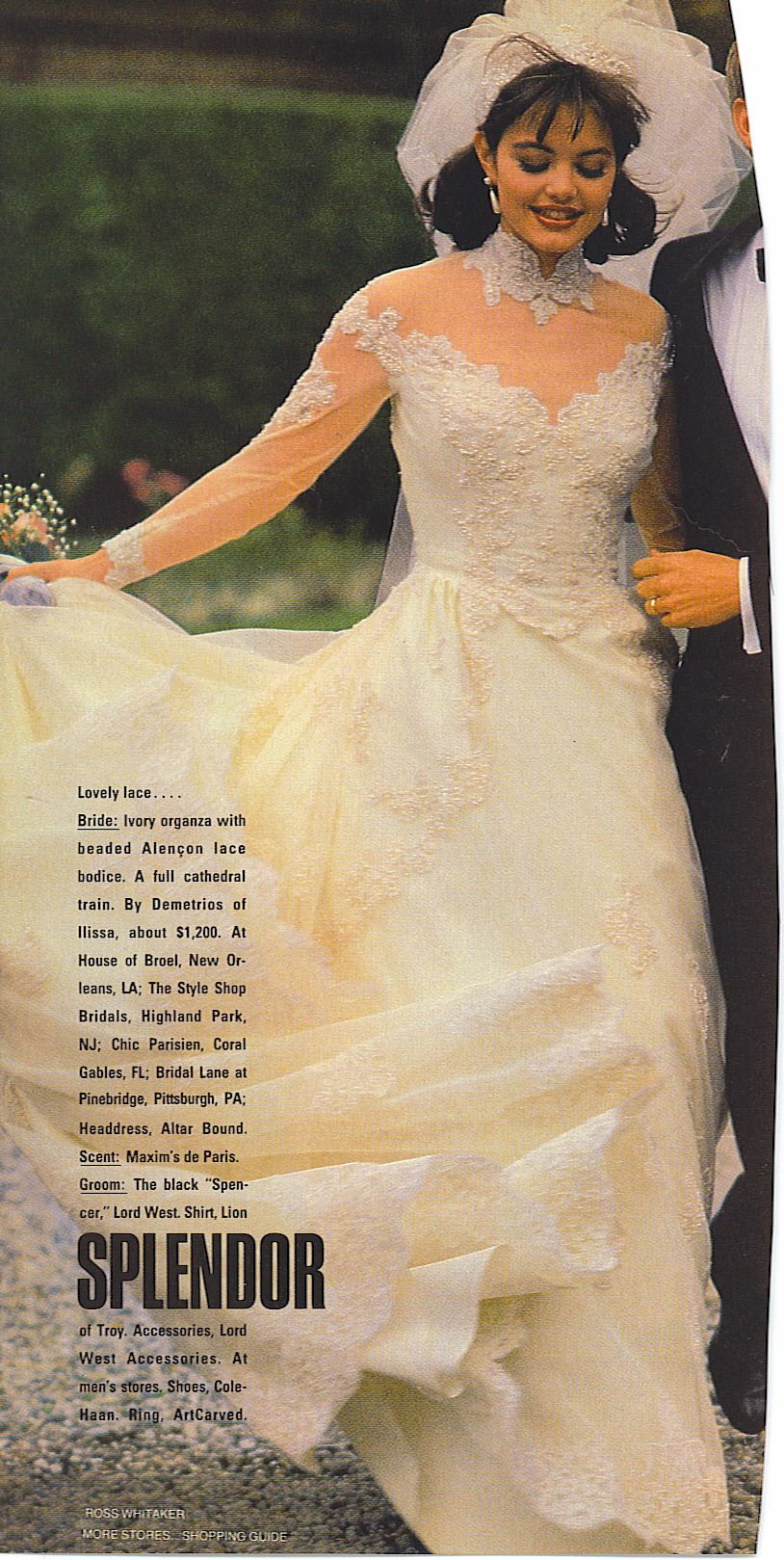 Bride Wedding Magazine Bridal Gowns Vintage Dramatic Wedding