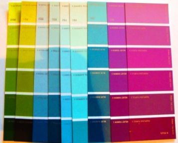 Decorating Woth Colors And Patterns Teal Green Pink And