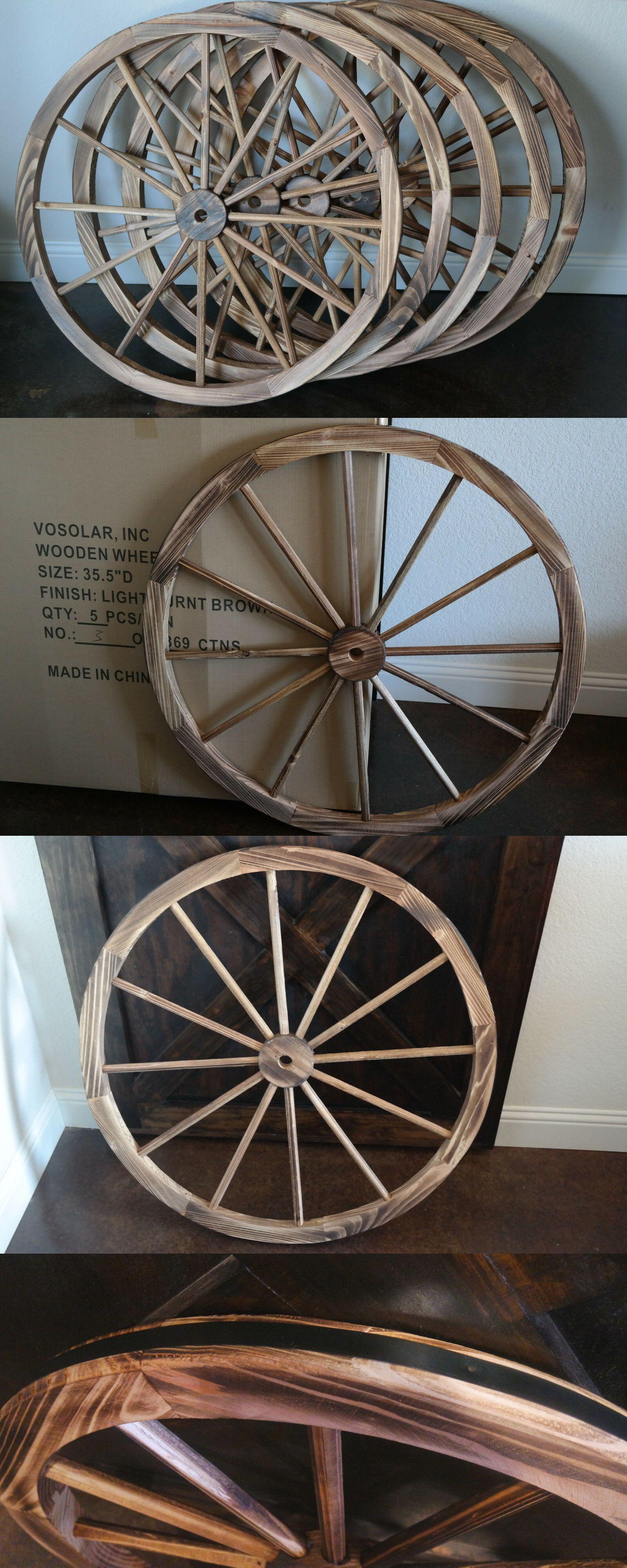 Other Garden D Cor 2034 Case Of 5 Wholesale 36 Decorative Wooden