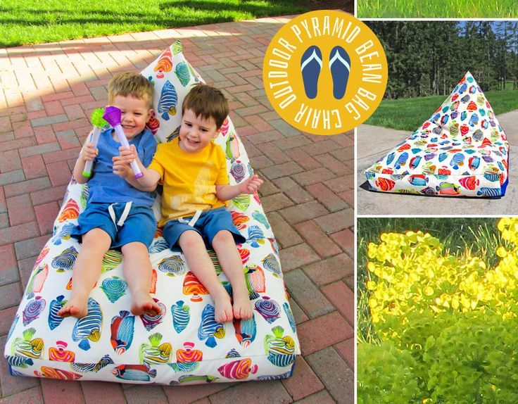 Pyramid Bean Bag Chair Fabric Depot