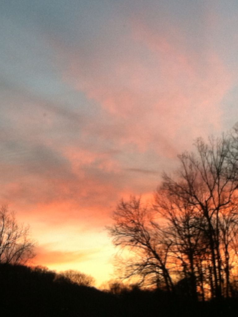 Harrisonburg va sunset