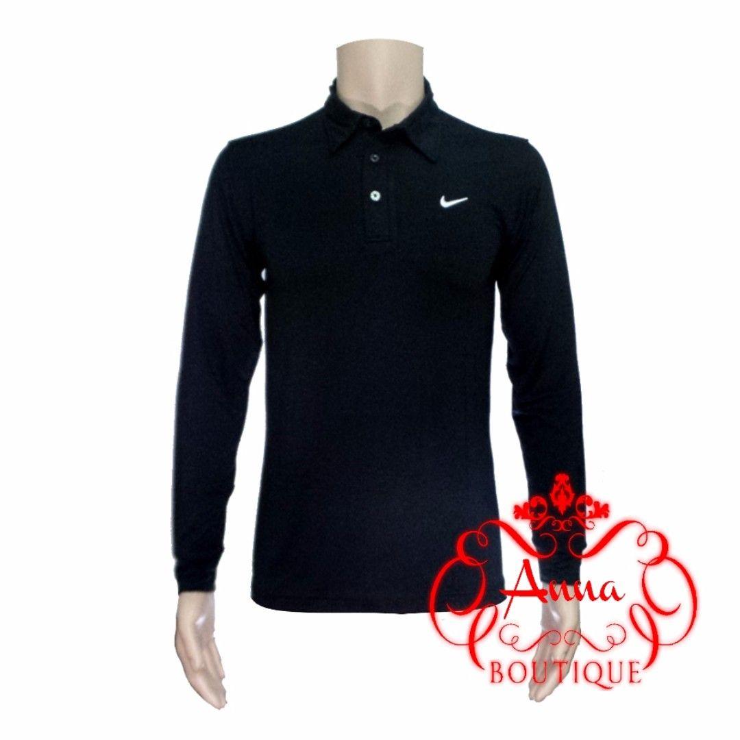 Nike Long Sleeve Dri Fit Golf Polo Shirt 003grey Call Or Whats App