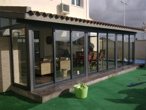 Puertas correderas de vidrio para terrazas chile buscar - Puertas de terraza ...