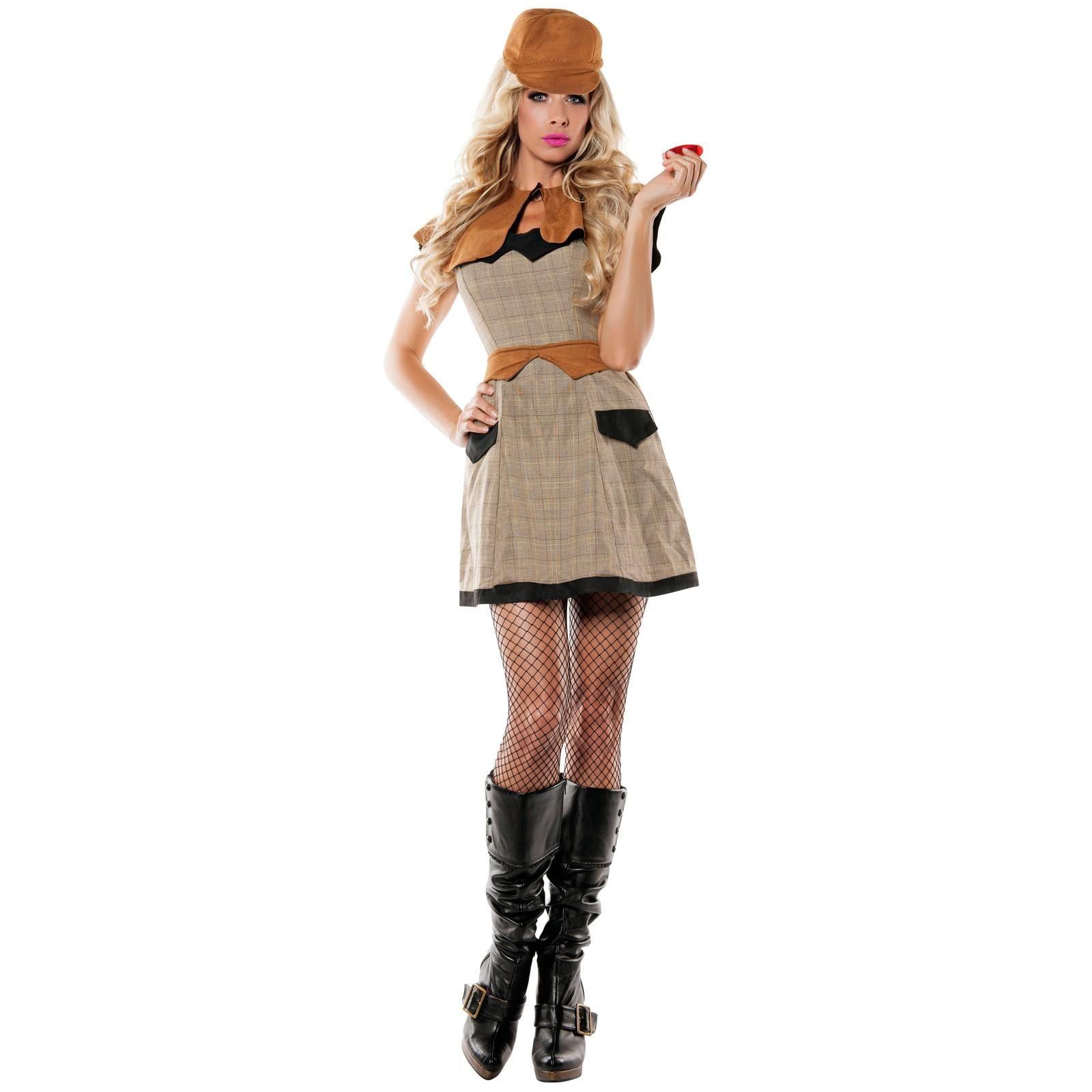 womens detective costume | halloween costumes | pinterest