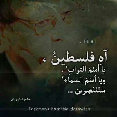 محمود درويش True Words Palestine Palestine Art
