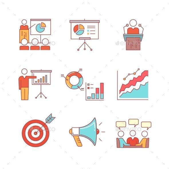 Business Presentation Education Seminar Lecture  Business