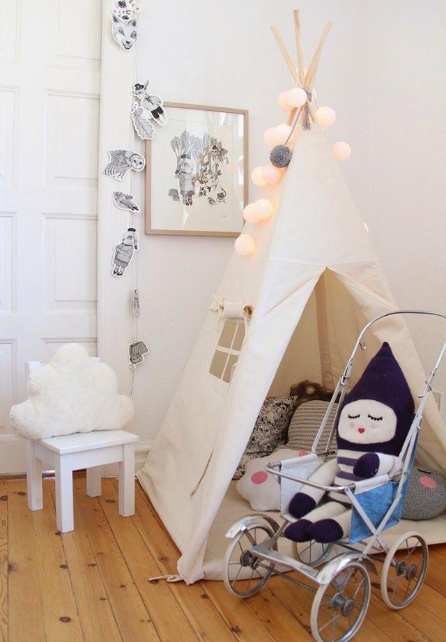 Un dormitorio infantil con estilo n rdico habitacion for Habitacion infantil estilo nordico