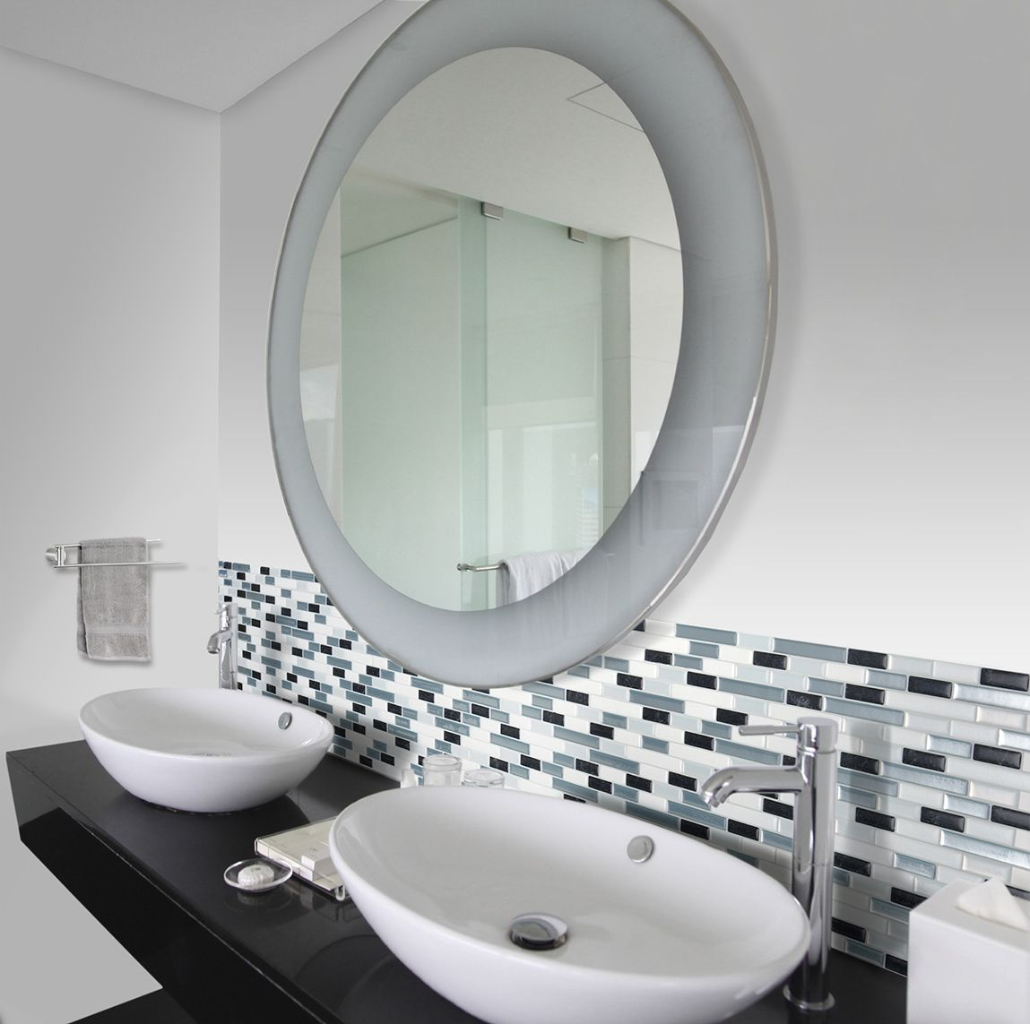 1000  images about carrelage mural adhésif   salle de bain on ...