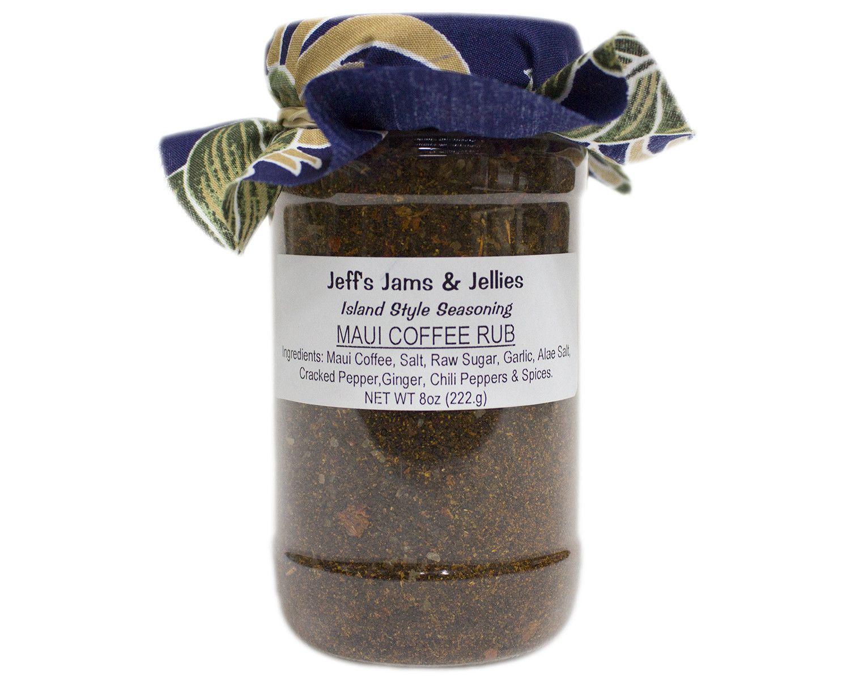 JEFF'S JAMS AND JELLIES - MAUI COFFEE RUB - 8oz – Maui ...