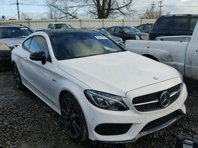 Salvage 2017 Mercedes-benz C43 Amg Coupe For Sale | Salvage Title ...