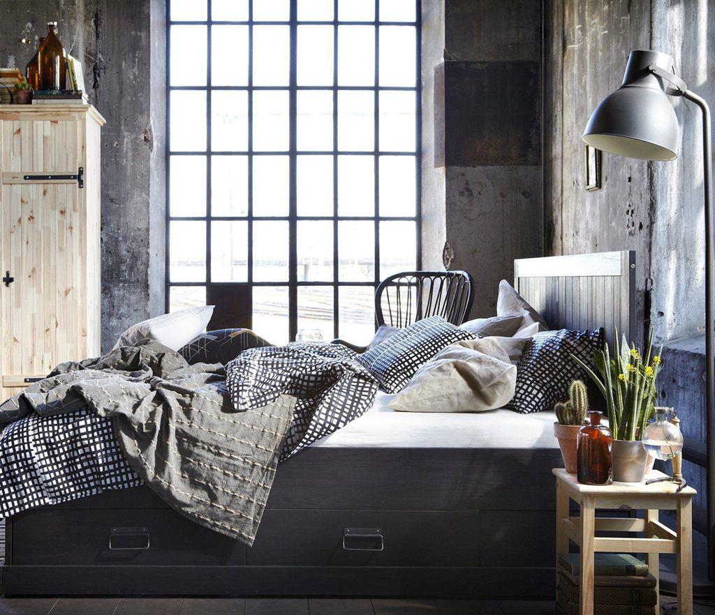 Un style rustique moderne  Magazine IKEA  Rustic industrial