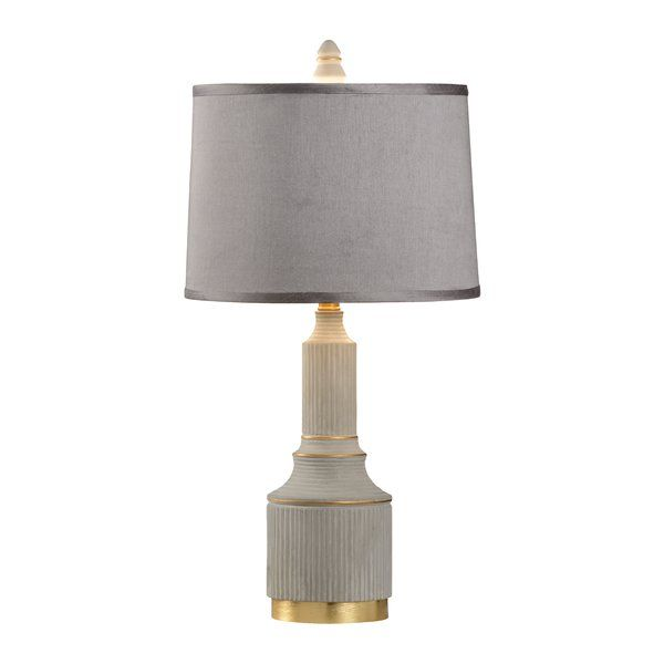 Youll love the courtyard arches 26 5 table lamp at perigold enjoy white