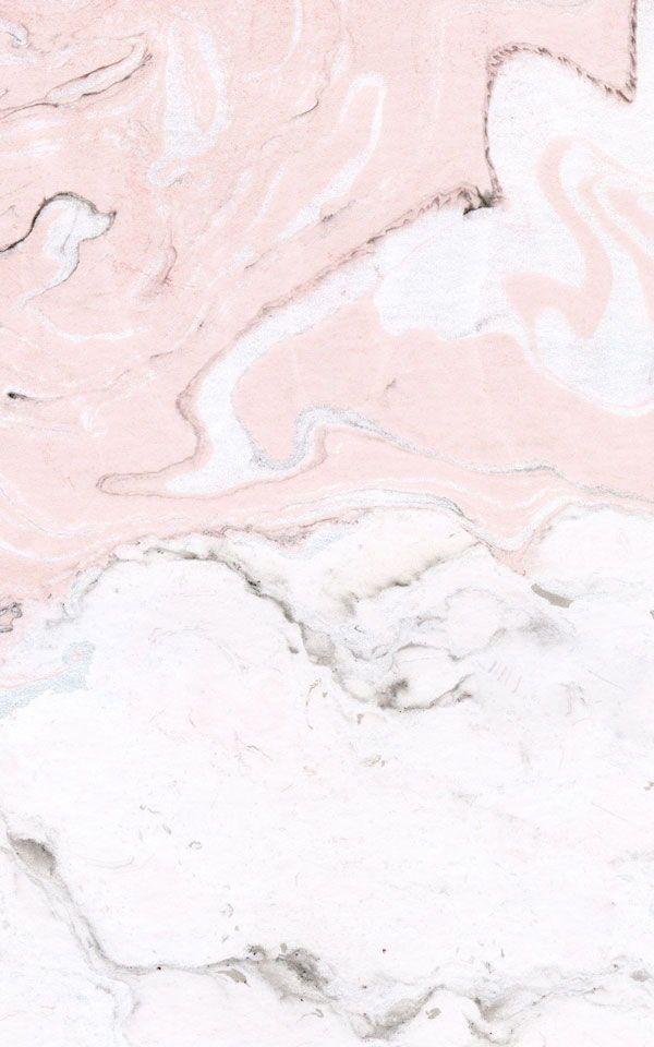 Carta Da Parati Murale Rosa E Bianca Marmorizzata Sfondi Di Carta