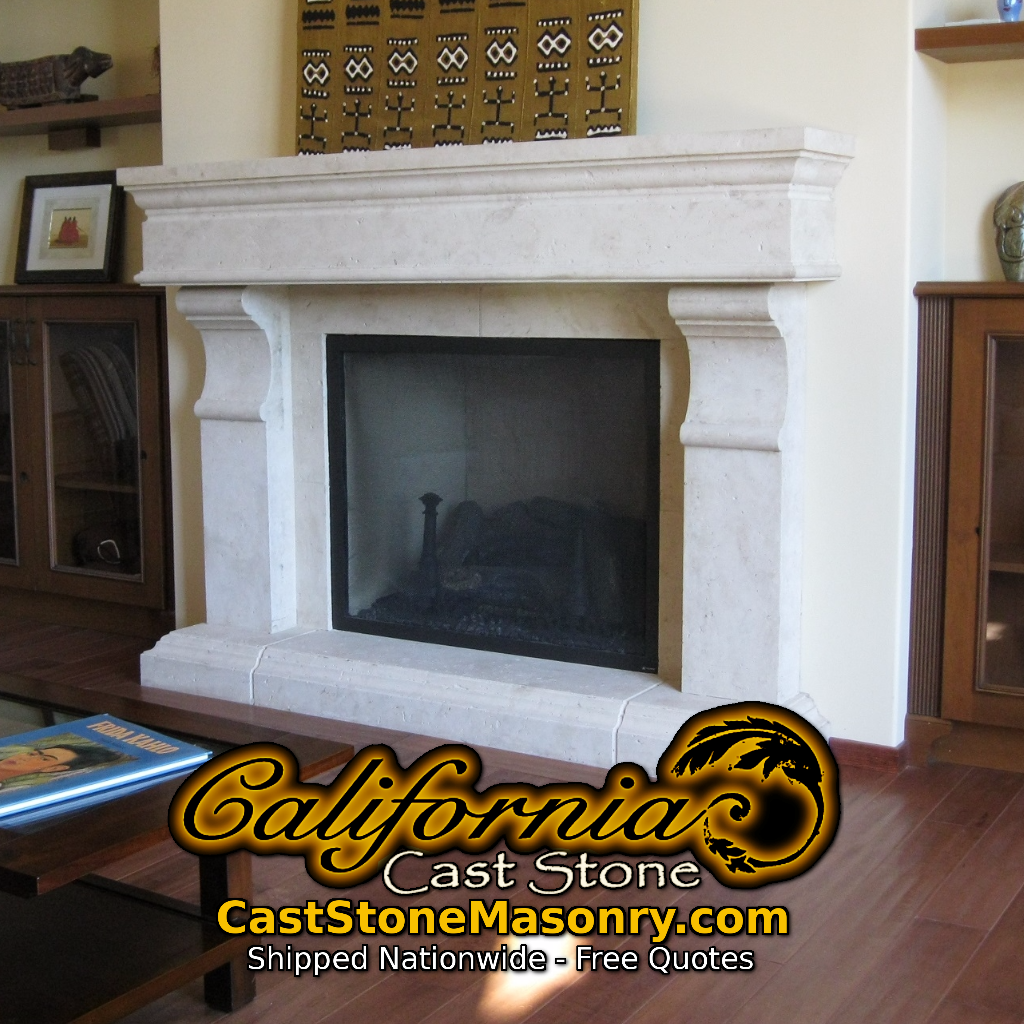 California Caststone Fireplaces Fireplace Stone Masonry Concrete Fireplace Fireplace Mantels