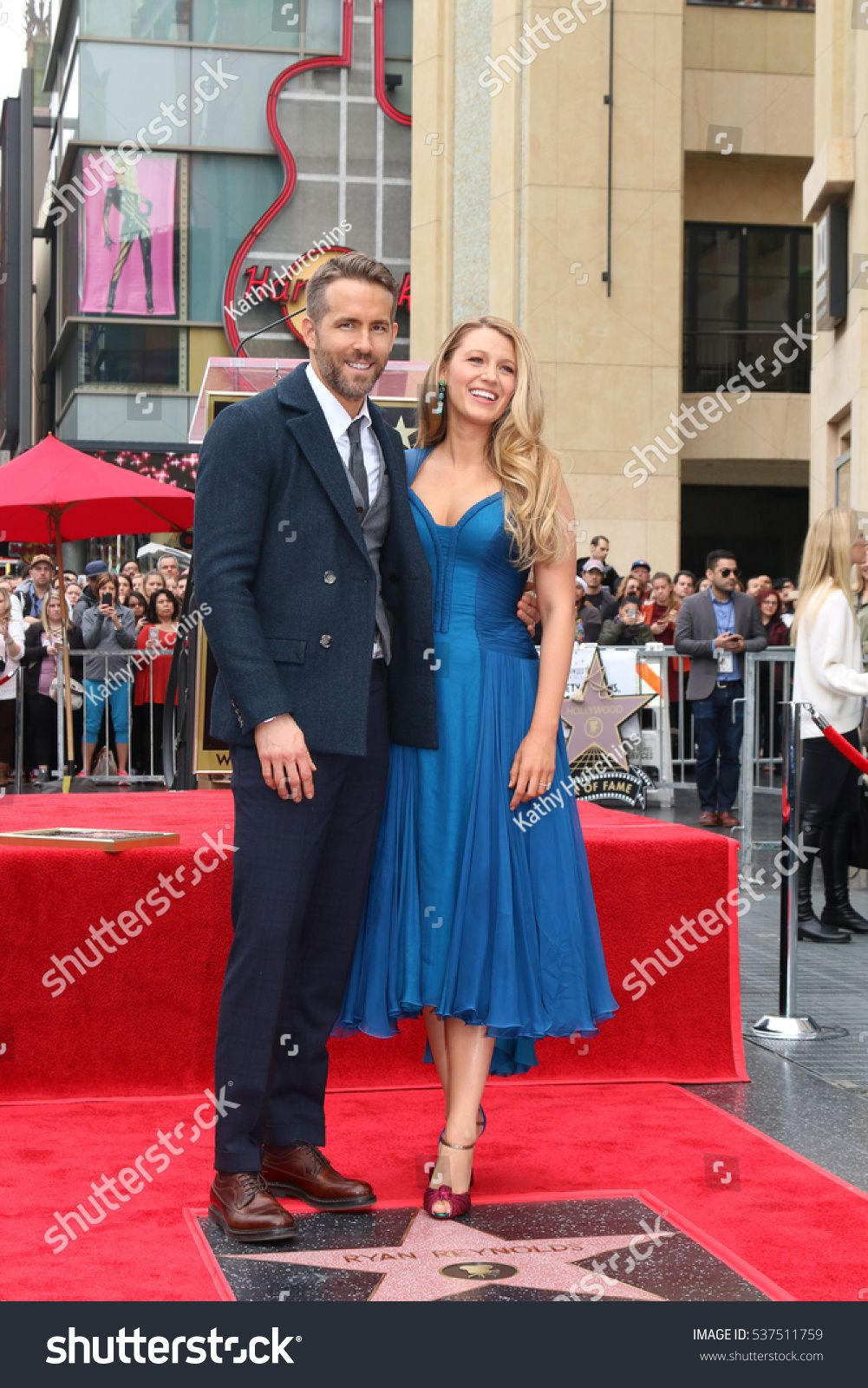 LOS ANGELES - DEC 15: Ryan Reynolds, Blake Lively at the Ryan Reynolds Hollywood Walk of Fame Star Ceremony at t #Ad , #Sponsored, #Blake#Reynolds#Hollywood#Lively