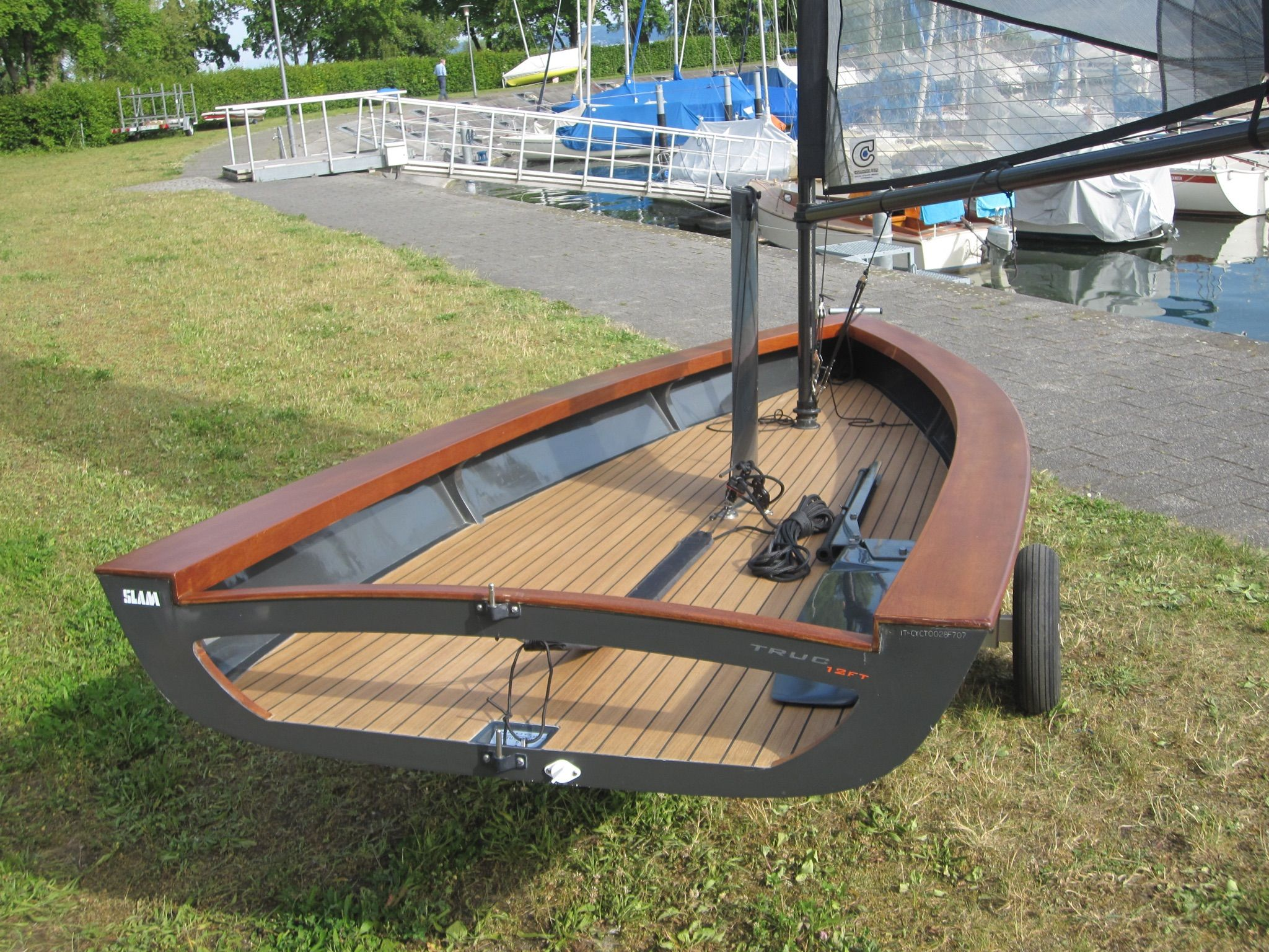 Home built jet dinghy s from new zealand boat design forums - Wooden Sailboat Wooden Boats Runabout Boat Boat Design Dinghy Boat Building Sail Boats Carpentry Paddles