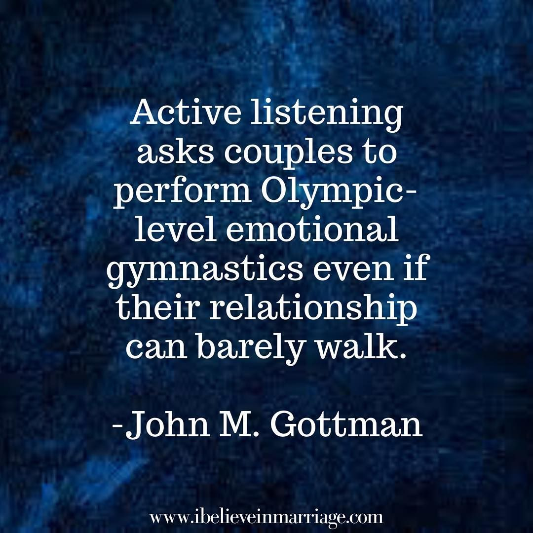 Active Listening Is Not Something Comes Easy For Most Of