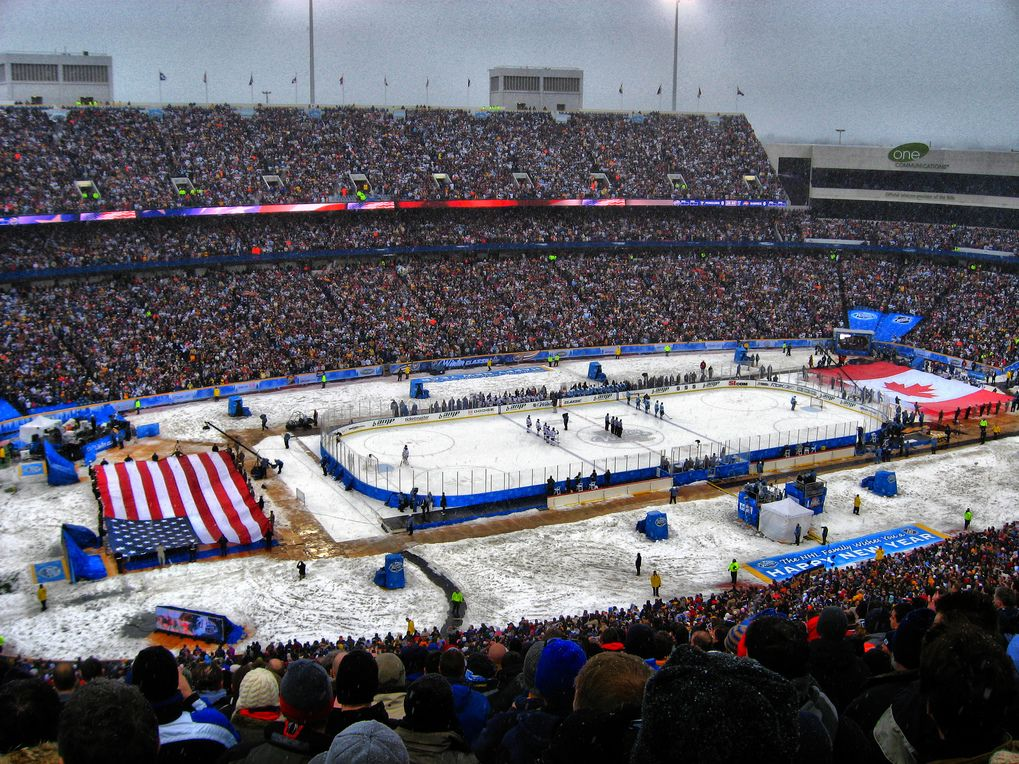 The very first NHL Winter Classic was played at Ralph