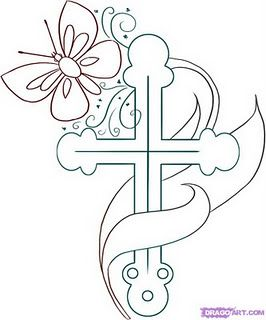 Special To Me Cross Coloring Page Cross Drawing Christian