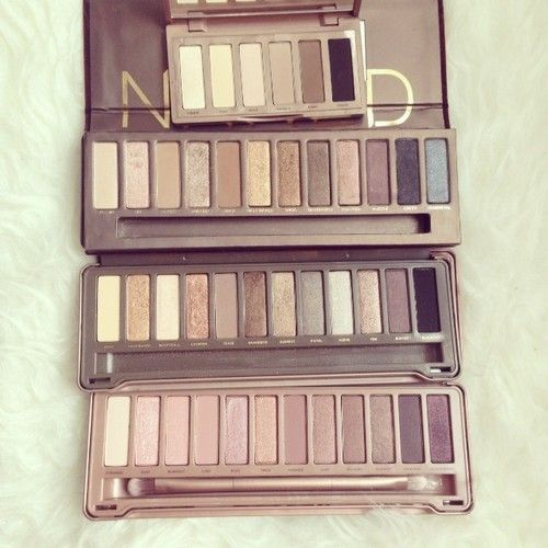the naked palettes by urban decay - want them!