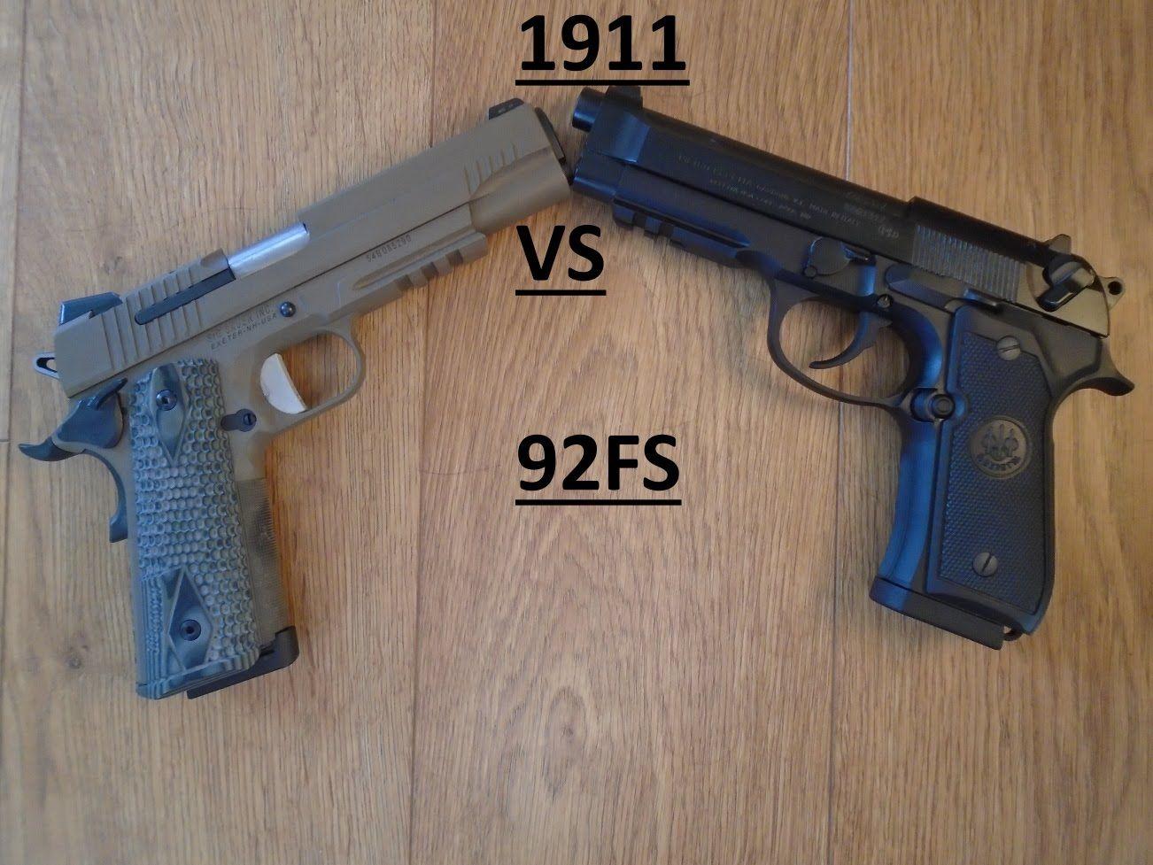 1911 vs Beretta 92A1: Reliability Test   Stuff to Buy   Hand
