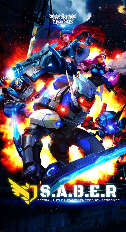 Team Blue Mobile Legends by xuneo on DeviantArt