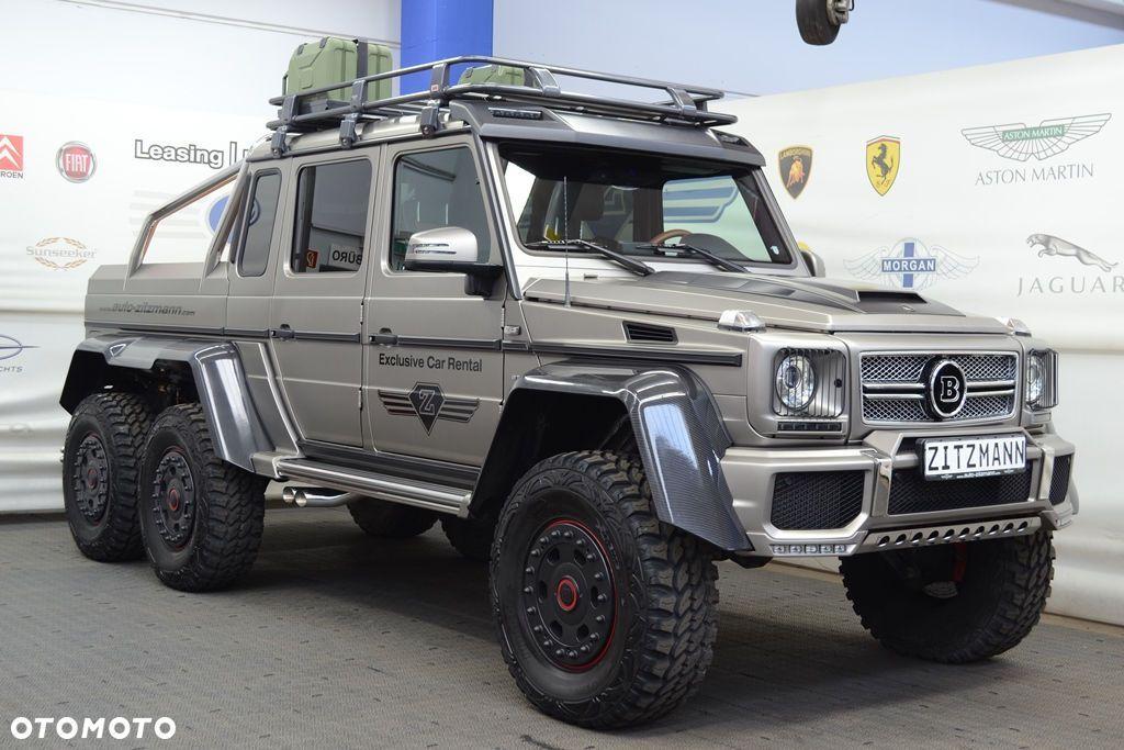 MercedesBenz Klasa G G63 AMG 6x6 Brabus 700 KM  1  Wheels  DE
