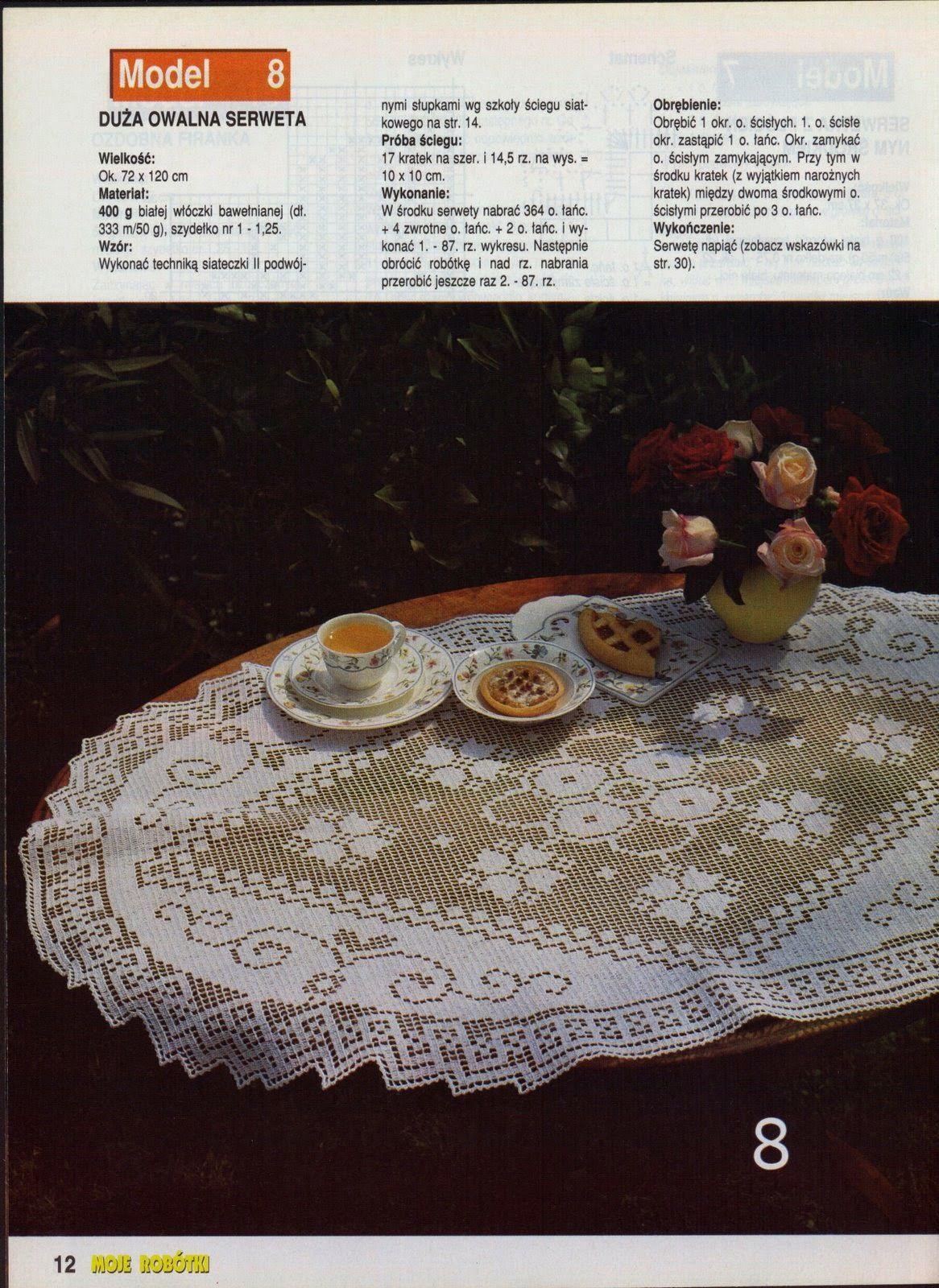 Kira scheme crochet: Scheme crochet no. 919