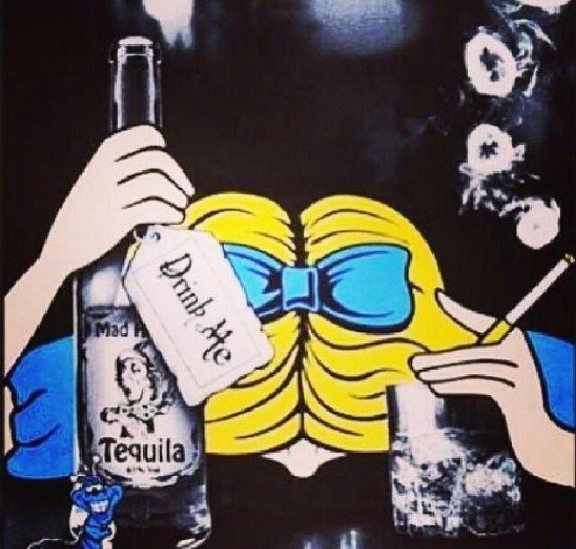 Alice In Wonderland Drunk