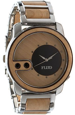 The Exchange Watch in Birch Wood by Flud Watches