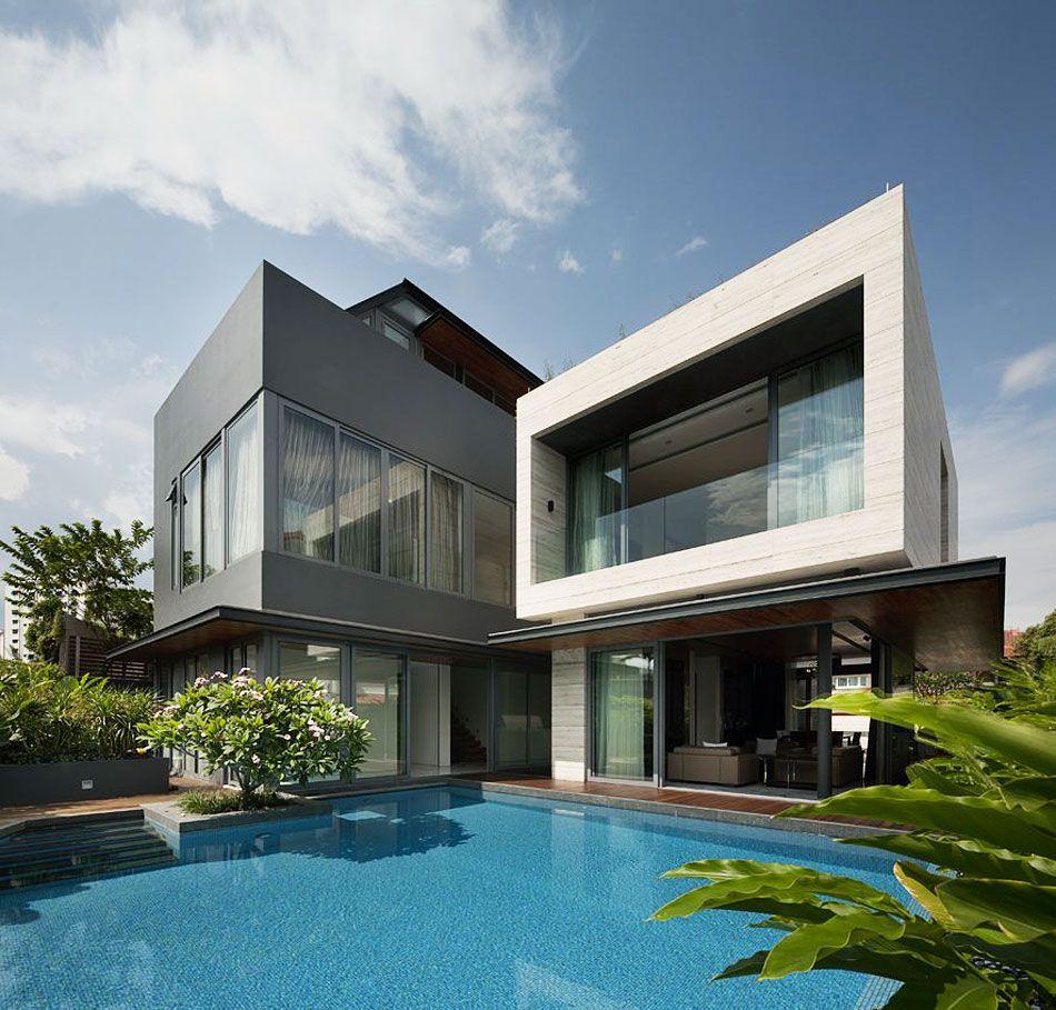 Travertine Dream House by Wallflower Architecture + Design ...