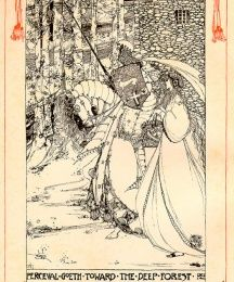 Perceval Goeth Toward the Deep Forest